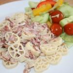 Snabb lunch och barnens favorit – pasta carbonara!