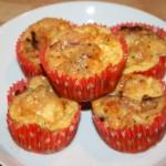 Bacon- och ägg-muffins med ost – kanonbra för LCHF:are! En mini-omelett :)