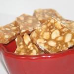 Snabbt knäck-bräck med cashewnötter och apelsin – smaskigt julgodis!
