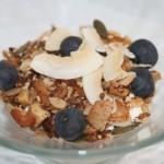 LCHF musli/müsli med nötter och frön – smaksatt med vanilj och kanel