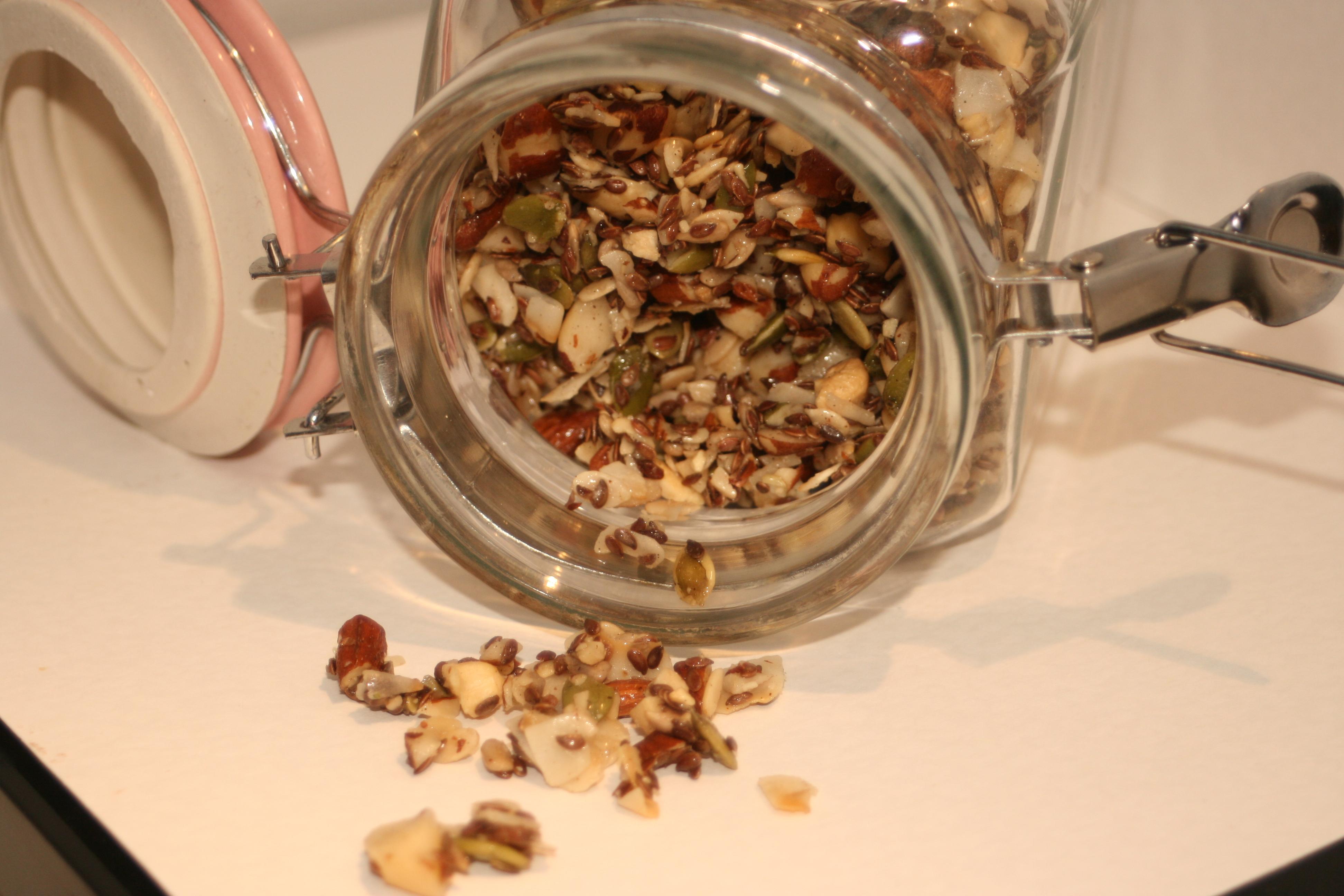 hemgjord musli med nötter