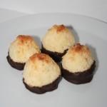 Chokladdoppade kokostoppar – baka med LCHF!
