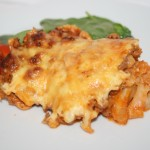 Köttfärs- och blomkålsgratäng – perfekt LCHF-mat!