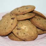 Tripple chocolate chip cookies – knapriga kakor med tre sorter choklad!