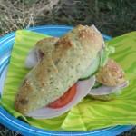 Saftiga zucchinibaguetter med solrosfrön – gott med LCHF!
