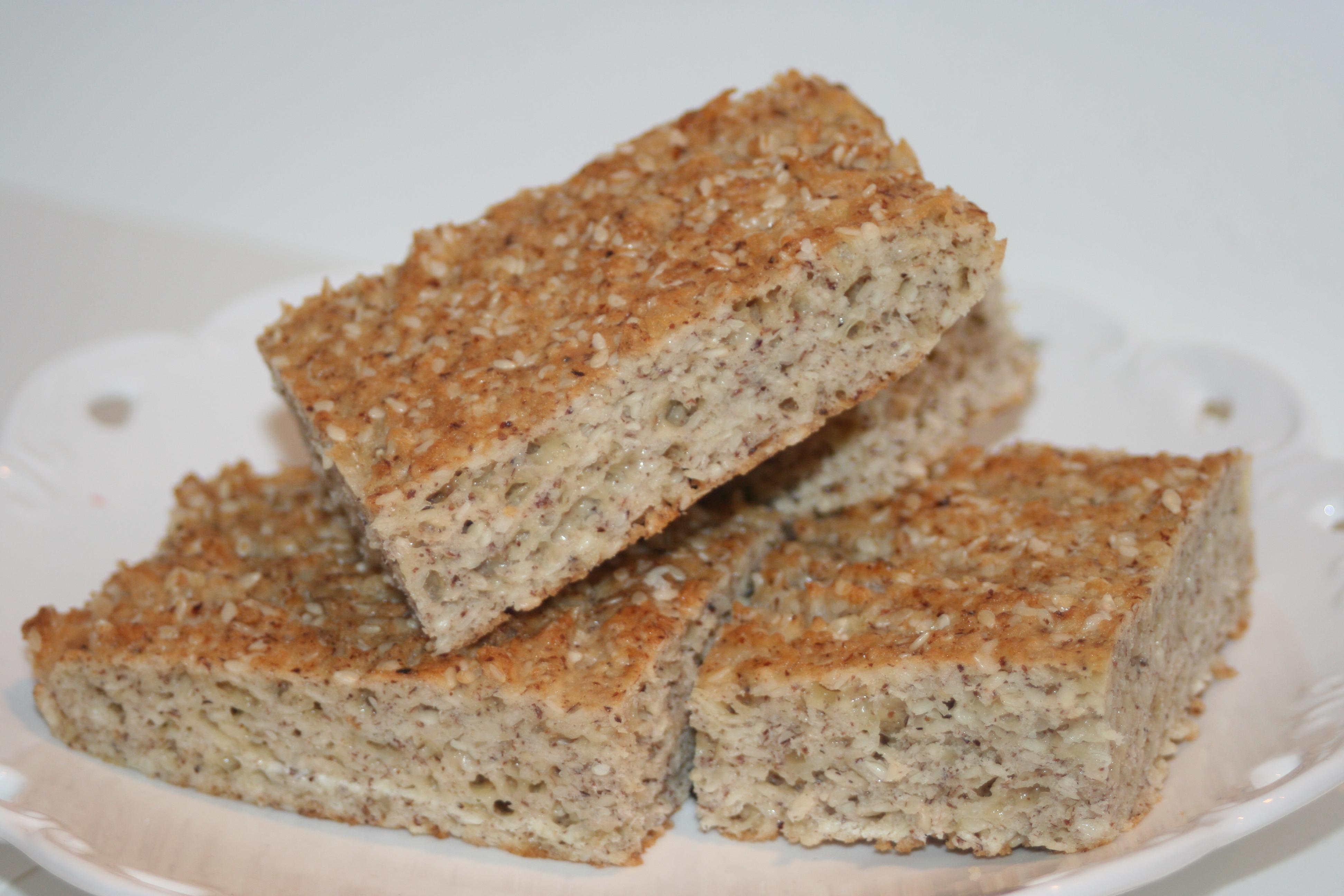 baka bröd med lchf