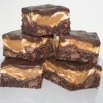 Ooey Gooey – brownie med marshmallows-och kolatopping samt tryffeltäcke