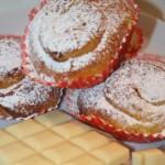 Saffransbullar med vit choklad och smörfyllning!