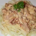 Snabb baconsås till pasta eller grönsaker!