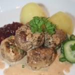 Rådjursköttbullar – massor av smak i en liten bulle!