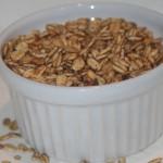 Honungsrostade havrekärnor med smör och kanel!