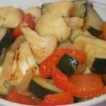 Sweet-chili-glaserade grönsaker!