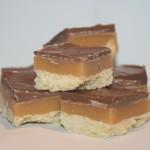 Twixkakor – knaprig kaka med kolasås och choklad!