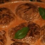 Medelhavsbiffar med mozzarella och soltorkade tomater!