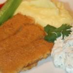 Kall sås till fisk med dill, gurka och citron