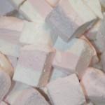 Marshmallows med hallon och vanilj!