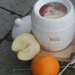 Inlagd sill med äpple, clementin och kanel