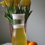Hemgjord apelsinsaft!