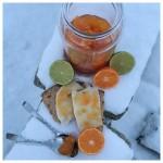 Clementinmarmelad med morötter och lime