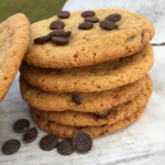 Godaste chocolate chip cookiesen!