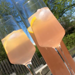 Rabarberlemonad med citron och vanilj
