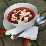 Jordgubbssoppa – sött och svalkande!