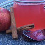 Äpple- och kanelgelé
