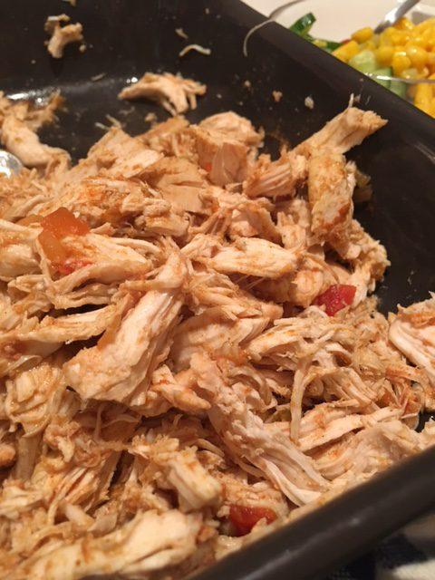 Pulled chicken!