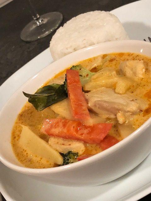 Thai red curry – Gaeng Ped