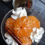 Inkokta clementiner i kryddig sockerlag